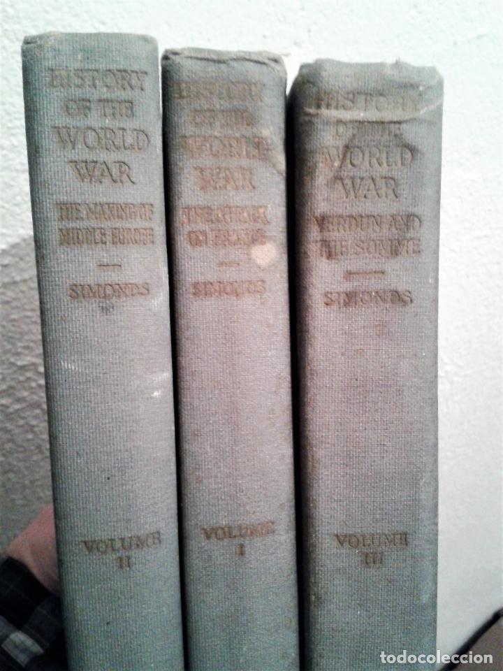 Libros antiguos: HISTORY OF THE WORLD WAR (1919), VOLUMENES 1, 2 Y 3. PRIMERA GUERRA MUNDIAL, AMPLIAMENTE ILUSTRADA. - Foto 25 - 77244533