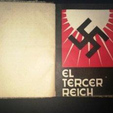 Libros antiguos: TERCER REICH MEDIA PIEL DE EPOCA MIGUEL GRUCHAGA 1933 EDICION ORIGINAL. Lote 78309661