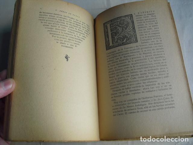 Libros antiguos: 1917 HERMAN ENCADENADO VIAJE A LOS FRENTES DEL ISONZO LA CARNIA Y EL TRENTINO RAMON PEREZ DE AYALA - Foto 2 - 80130021