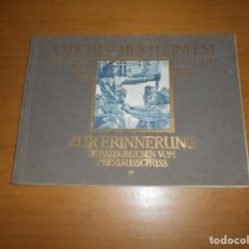 Libros antiguos: LIBRO FOTOGRAFICO 12 DEUTSCHES TURNFEST LEIPZIG 1913 MAS DE 100 FOTOS SOBRE EL EVENTO. Lote 83599232