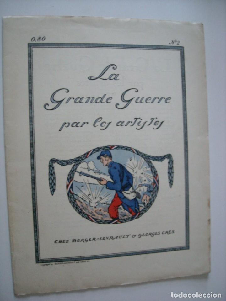 LA GRANDE GUERRE PAR LES ARTISTES - NOV. 1914 (Libros antiguos (hasta 1936), raros y curiosos - Historia - Primera Guerra Mundial)