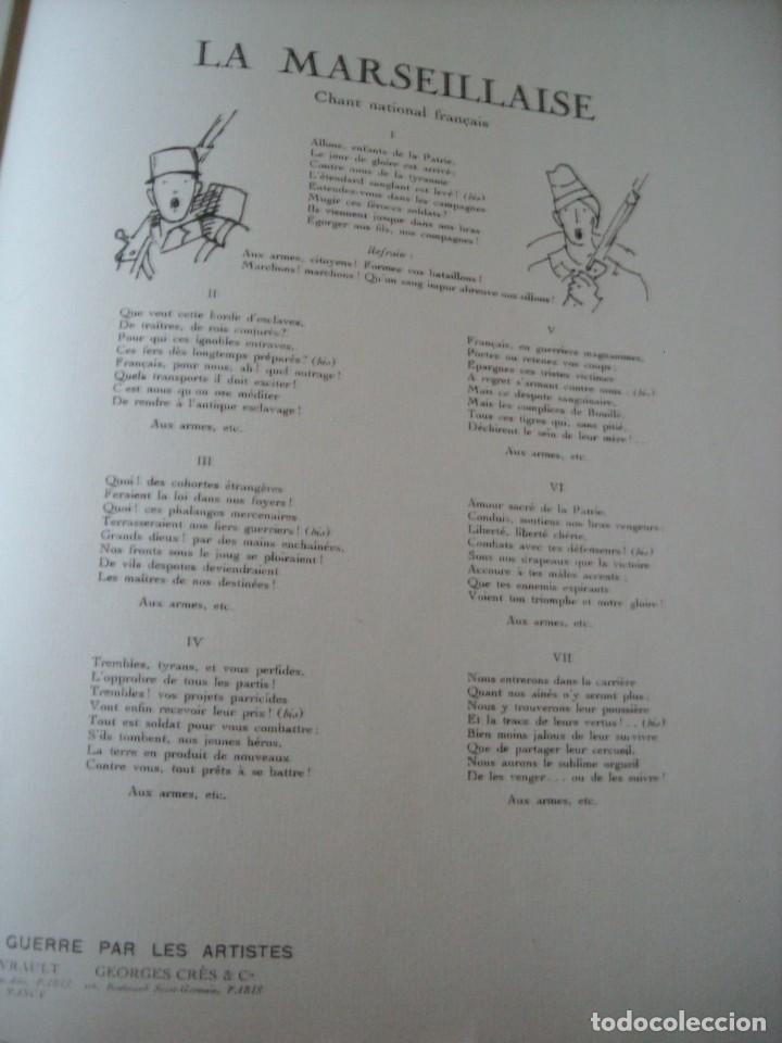 Libros antiguos: LA GRANDE GUERRE PAR LES ARTISTES - Nov. 1914 - Foto 4 - 84836396
