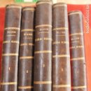 Libros antiguos: HISTORIA DE LA GUERRA EUROPEA DE 1914, BLASCO IBAÑEZ, 5 TOMOS, PROMETEO, VALENCIA. Lote 110309258