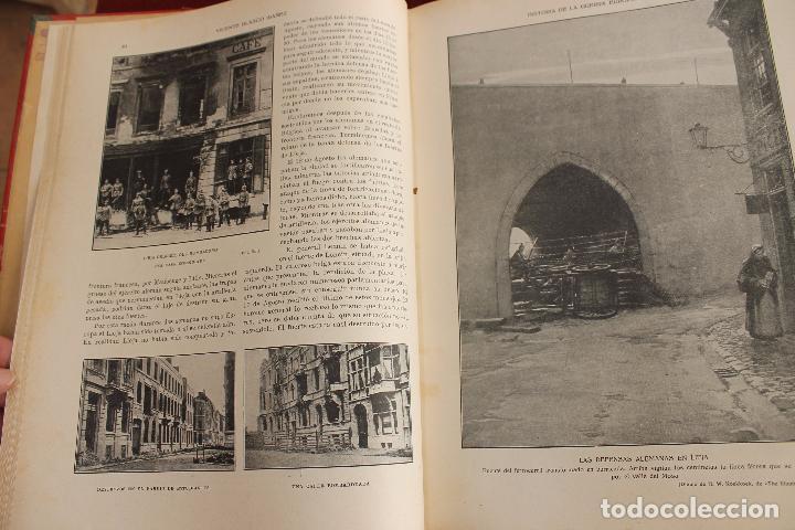 Libros antiguos: HISTORIA DE LA GUERRA EUROPEA DE 1914, BLASCO IBAÑEZ, 5 TOMOS, PROMETEO, VALENCIA - Foto 2 - 110309258