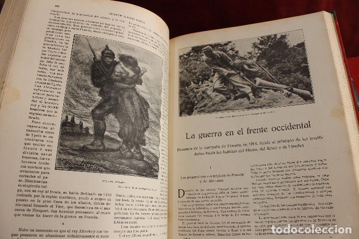 Libros antiguos: HISTORIA DE LA GUERRA EUROPEA DE 1914, BLASCO IBAÑEZ, 5 TOMOS, PROMETEO, VALENCIA - Foto 3 - 110309258