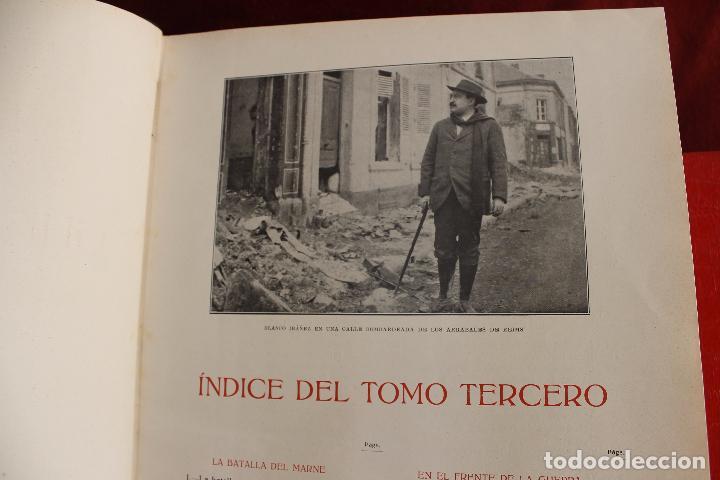 Libros antiguos: HISTORIA DE LA GUERRA EUROPEA DE 1914, BLASCO IBAÑEZ, 5 TOMOS, PROMETEO, VALENCIA - Foto 4 - 110309258
