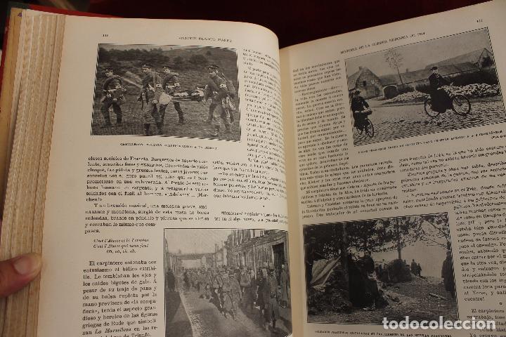 Libros antiguos: HISTORIA DE LA GUERRA EUROPEA DE 1914, BLASCO IBAÑEZ, 5 TOMOS, PROMETEO, VALENCIA - Foto 7 - 110309258