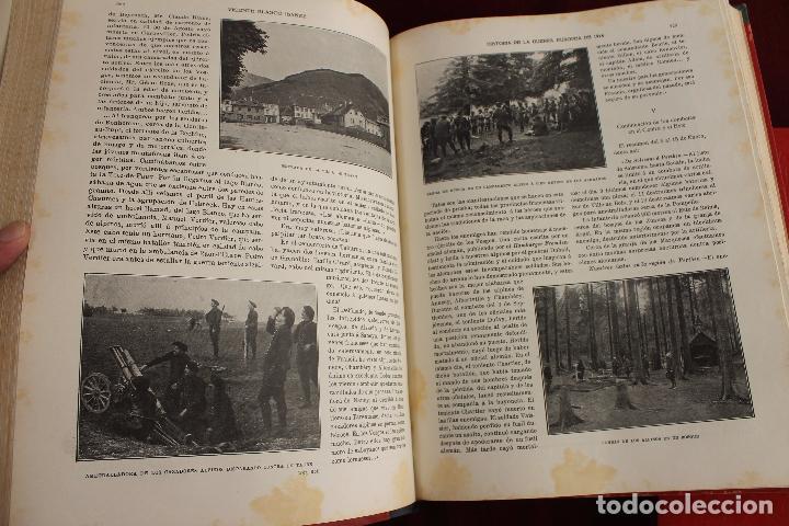 Libros antiguos: HISTORIA DE LA GUERRA EUROPEA DE 1914, BLASCO IBAÑEZ, 5 TOMOS, PROMETEO, VALENCIA - Foto 9 - 110309258