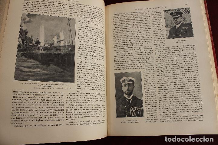 Libros antiguos: HISTORIA DE LA GUERRA EUROPEA DE 1914, BLASCO IBAÑEZ, 5 TOMOS, PROMETEO, VALENCIA - Foto 11 - 110309258