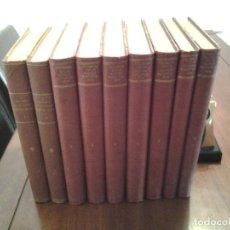Libros antiguos: HISTORIA DE LA GUERRA EUROPEA 1914 - VICENTE BLASCO IBAÑEZ - EDITORIAL PROMETEO - 9 TOMOS. Lote 89388608
