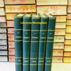 Libros antiguos: LA GUERRA ILUSTRADA . CRÓNICA DE LA I GUERRA MUNDIAL. (1914-1918) . FASCÍCULOS DEL Nº 1 AL 165 EN ... Lote 90444609