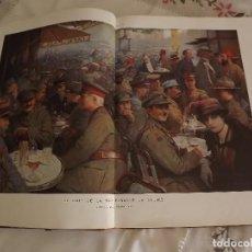 Libros antiguos: HERMOSOS LIBROS L'ALBUM DE LA GUERRA L'ILLUSTRATION DOS TOMOS. Lote 97701399