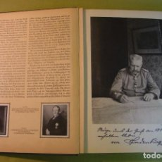 Libros antiguos: HINDENBURG 1934 GUERRA MUNDIAL MILITARIA ALEMANIA NAZI ALBUM DE CROMOS COMPLETO MILITARIA. Lote 109937591