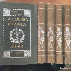 Libros antiguos: LA GUERRA EUROPEA EN 10 TOMOS (GONZALO CALVO Y JOSE BRISSA) ED. MAUCCI (LB34). Lote 118498295