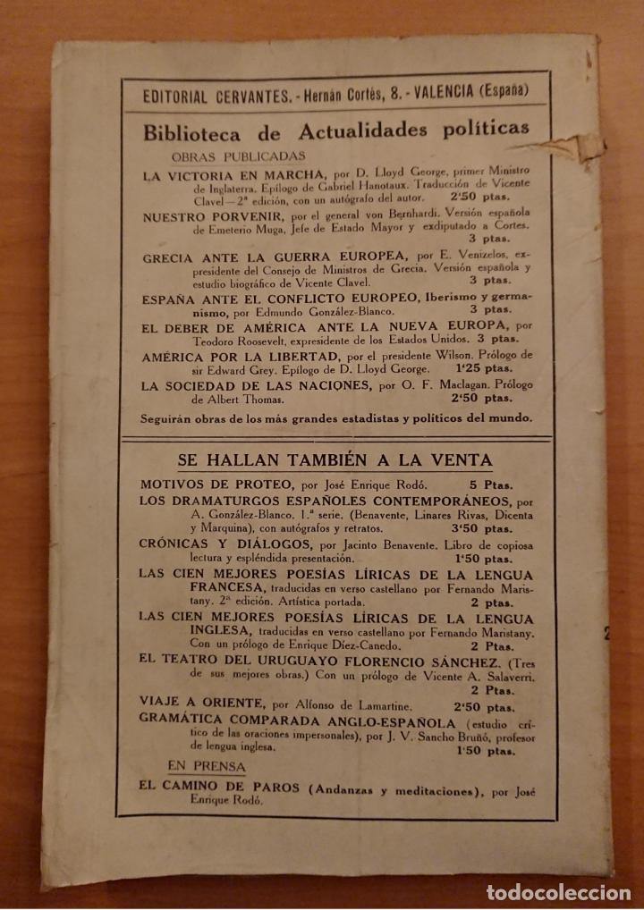Libros antiguos: LA SOCIEDAD DE LAS NACIONES, O. F. MACLAGAN, ALBERT THOMAS - Foto 3 - 119770199