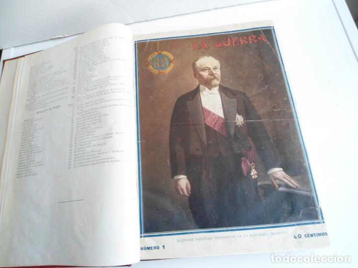 Libros antiguos: LA GUERRA ILUSTRADA - CRONICA DE LA GUERRA EUROPEA - AUGUSTO RIERA - EDIT. SEGUI - 1920 - 5 TOMOS - Foto 8 - 123552175