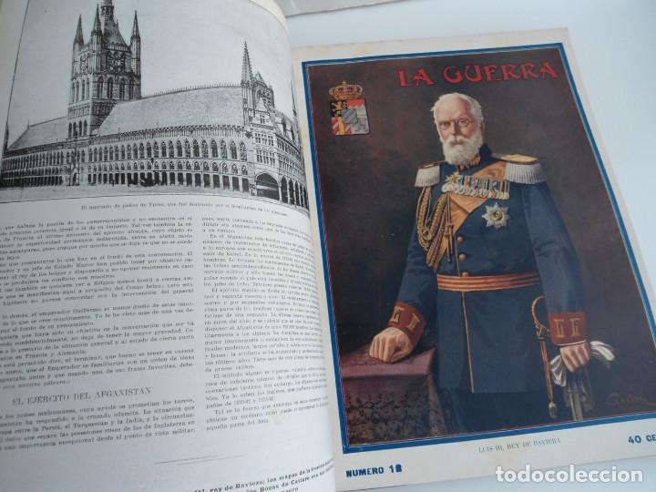 Libros antiguos: LA GUERRA ILUSTRADA - CRONICA DE LA GUERRA EUROPEA - AUGUSTO RIERA - EDIT. SEGUI - 1920 - 5 TOMOS - Foto 13 - 123552175