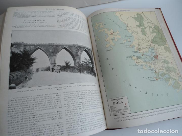 Libros antiguos: LA GUERRA ILUSTRADA - CRONICA DE LA GUERRA EUROPEA - AUGUSTO RIERA - EDIT. SEGUI - 1920 - 5 TOMOS - Foto 19 - 123552175