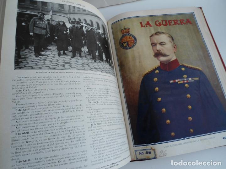 Libros antiguos: LA GUERRA ILUSTRADA - CRONICA DE LA GUERRA EUROPEA - AUGUSTO RIERA - EDIT. SEGUI - 1920 - 5 TOMOS - Foto 20 - 123552175