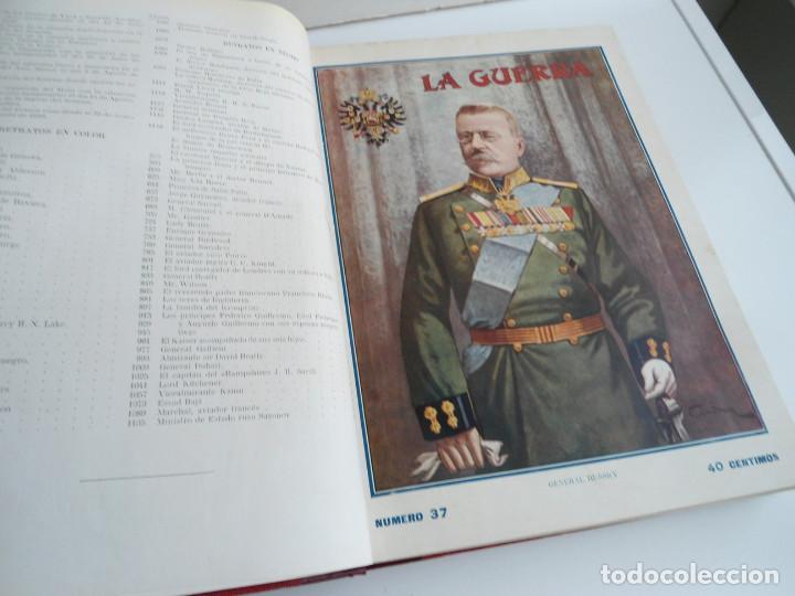 Libros antiguos: LA GUERRA ILUSTRADA - CRONICA DE LA GUERRA EUROPEA - AUGUSTO RIERA - EDIT. SEGUI - 1920 - 5 TOMOS - Foto 22 - 123552175