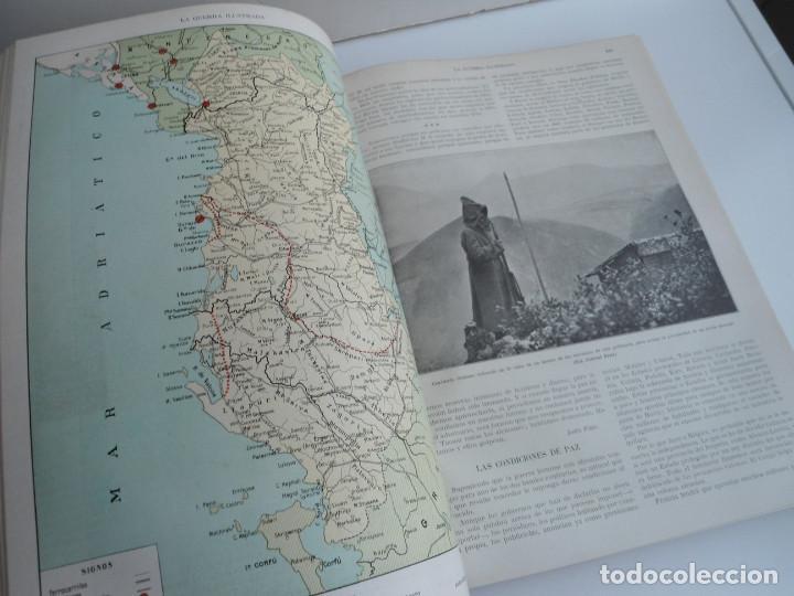 Libros antiguos: LA GUERRA ILUSTRADA - CRONICA DE LA GUERRA EUROPEA - AUGUSTO RIERA - EDIT. SEGUI - 1920 - 5 TOMOS - Foto 25 - 123552175