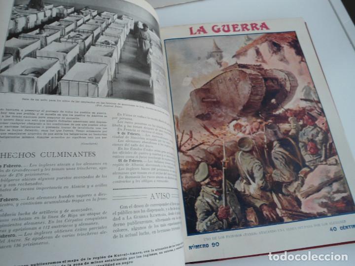 Libros antiguos: LA GUERRA ILUSTRADA - CRONICA DE LA GUERRA EUROPEA - AUGUSTO RIERA - EDIT. SEGUI - 1920 - 5 TOMOS - Foto 34 - 123552175