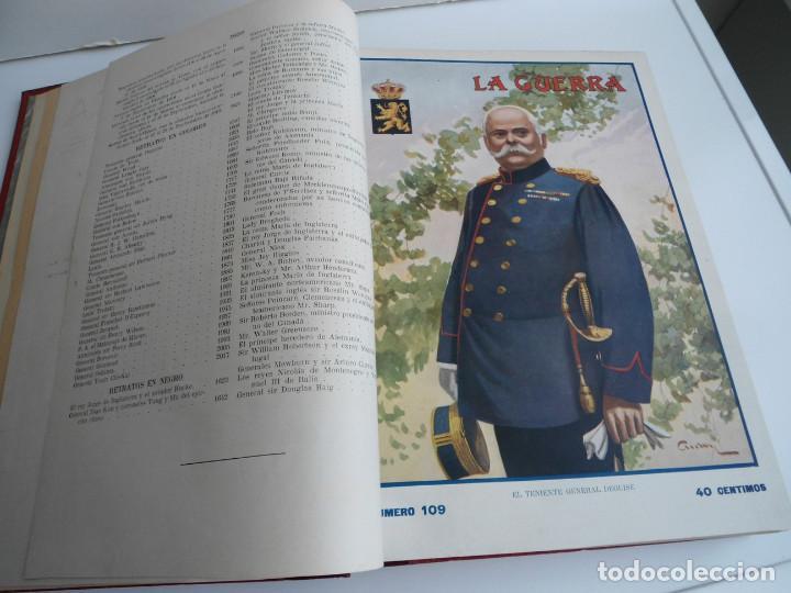 Libros antiguos: LA GUERRA ILUSTRADA - CRONICA DE LA GUERRA EUROPEA - AUGUSTO RIERA - EDIT. SEGUI - 1920 - 5 TOMOS - Foto 40 - 123552175