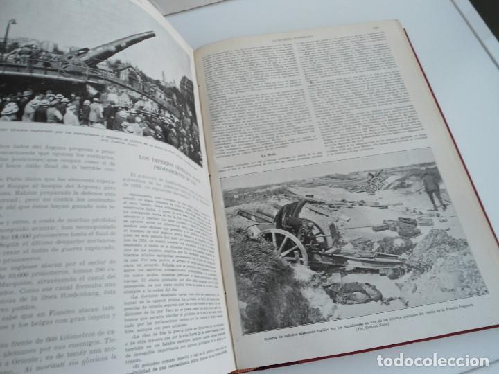 Libros antiguos: LA GUERRA ILUSTRADA - CRONICA DE LA GUERRA EUROPEA - AUGUSTO RIERA - EDIT. SEGUI - 1920 - 5 TOMOS - Foto 43 - 123552175