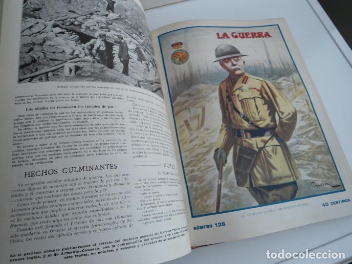 Libros antiguos: LA GUERRA ILUSTRADA - CRONICA DE LA GUERRA EUROPEA - AUGUSTO RIERA - EDIT. SEGUI - 1920 - 5 TOMOS - Foto 49 - 123552175