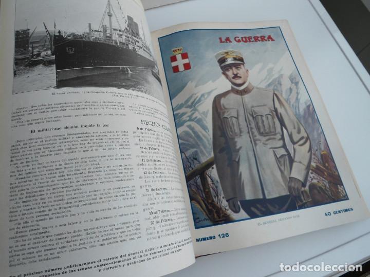 Libros antiguos: LA GUERRA ILUSTRADA - CRONICA DE LA GUERRA EUROPEA - AUGUSTO RIERA - EDIT. SEGUI - 1920 - 5 TOMOS - Foto 50 - 123552175