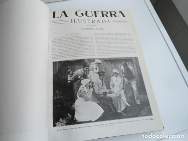 Libros antiguos: LA GUERRA ILUSTRADA - CRONICA DE LA GUERRA EUROPEA - AUGUSTO RIERA - EDIT. SEGUI - 1920 - 5 TOMOS - Foto 53 - 123552175