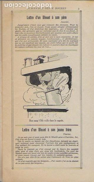 Libros antiguos: Almanach K-boches 1918. Fontrenay aux Roses : Imp. L. Bellenand. 21x10,5 cm. 32 p. - Foto 3 - 128682715