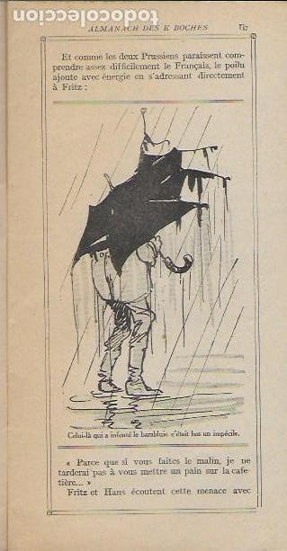 Libros antiguos: Almanach K-boches 1918. Fontrenay aux Roses : Imp. L. Bellenand. 21x10,5 cm. 32 p. - Foto 4 - 128682715