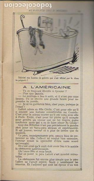 Libros antiguos: Almanach K-boches 1918. Fontrenay aux Roses : Imp. L. Bellenand. 21x10,5 cm. 32 p. - Foto 7 - 128682715