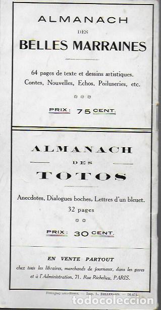 Libros antiguos: Almanach K-boches 1918. Fontrenay aux Roses : Imp. L. Bellenand. 21x10,5 cm. 32 p. - Foto 9 - 128682715