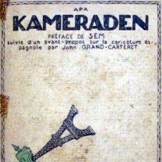 Libros antiguos: KAMERADEN. - APA. - BARCELONA, 1917.. Lote 123157450