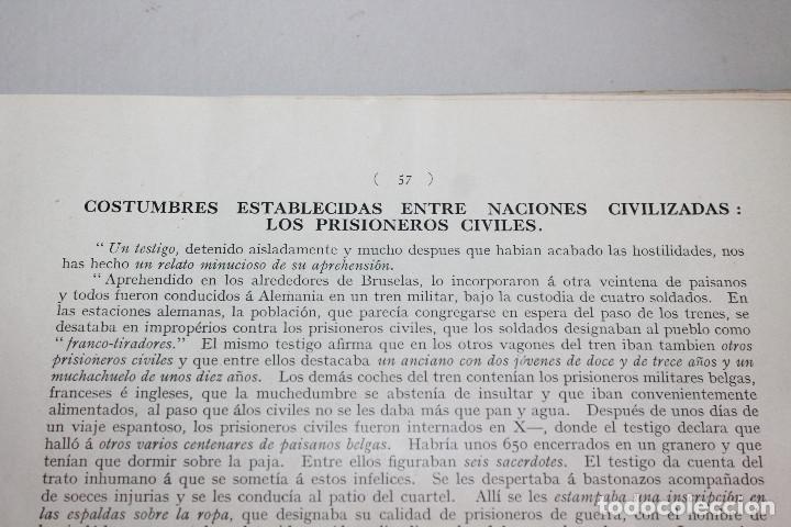 Libros antiguos: BÉLGICA Y ALEMANIA. HENRI DAVIGNON. 128 PÁGINAS. INFORMACIÓN Y 17 FOTOS. - Foto 8 - 136183598