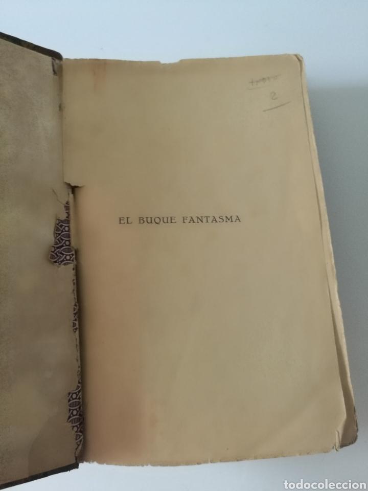 Libros antiguos: EL BUQUE FANTASMA 1930 1° EDICIÓN TAPAS PIEL KARL SPINDLER - Foto 4 - 139879621