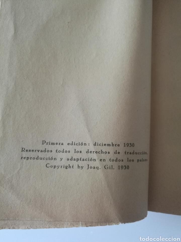 Libros antiguos: EL BUQUE FANTASMA 1930 1° EDICIÓN TAPAS PIEL KARL SPINDLER - Foto 8 - 139879621