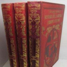 Libros antiguos: HISTORIA DE LA GUERRA EUROPEA DE 1914, TOMOS I-II-III, VICENTE BLASCO IBÁÑEZ, ED. PROMETEO. Lote 141413122