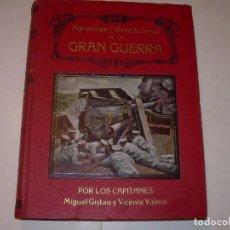 Libros antiguos: MARAVILLAS Y REVELACIONES DE LA GRAN GUERRA DE 1914..CON INFINIDAD DE GRABADOS Y FOTOGRAFIAS.. Lote 141937954