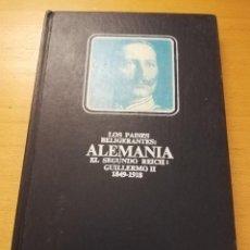 Libros antiguos: EL SEGUNDO REICH. LA ALEMANIA DEL KAISER GUILLERMO II (HAROLD KURTZ) EDICIONES NAUTA. Lote 147108578