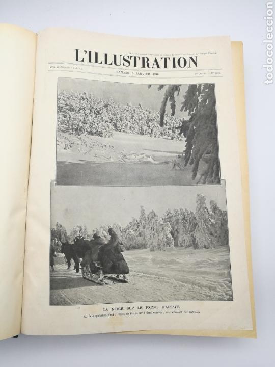 Libros antiguos: L'illustration primera guerra mundial 1918 - Foto 2 - 147526110