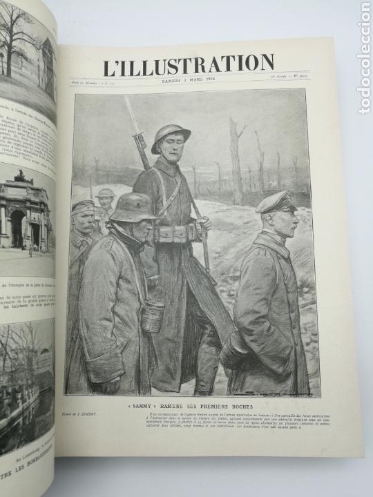 Libros antiguos: L'illustration primera guerra mundial 1918 - Foto 3 - 147526110