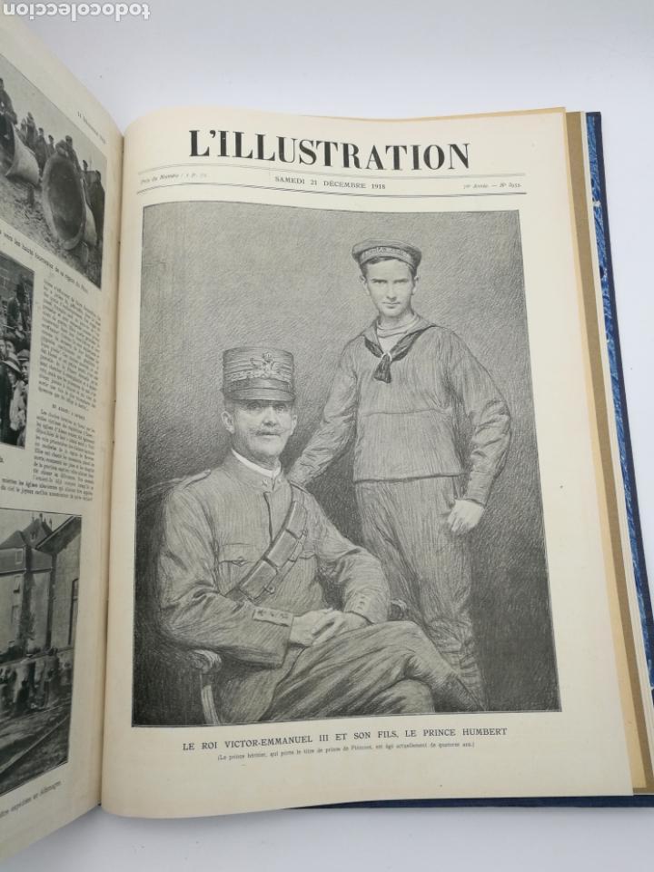 Libros antiguos: L'illustration primera guerra mundial 1918 - Foto 7 - 147526110