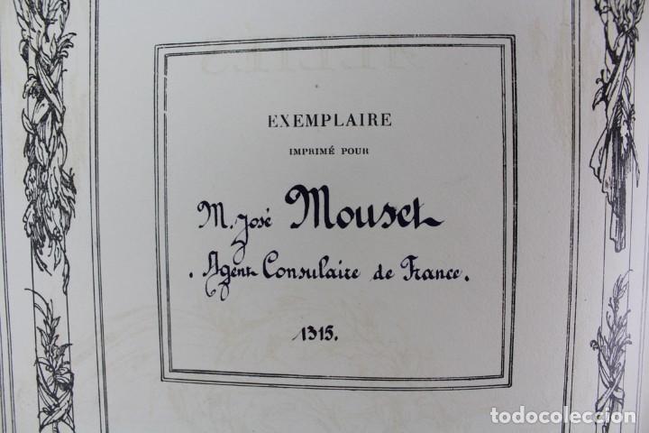 Libros antiguos: *L-5250 MEMORIAL DES ALLIES, EJEMPLAR M.JOSE MOUSCH AGENT CONSULAIRE DE FRANCE, FACSIMIL 1315. - Foto 9 - 150087598