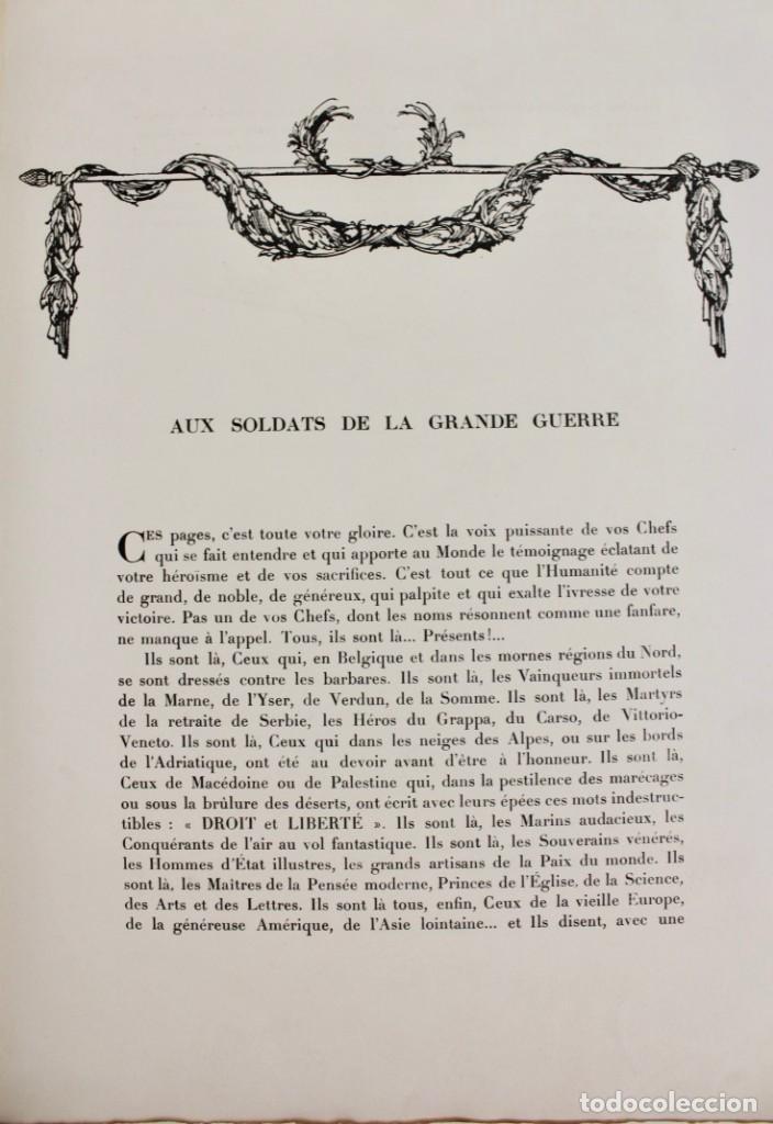Libros antiguos: *L-5250 MEMORIAL DES ALLIES, EJEMPLAR M.JOSE MOUSCH AGENT CONSULAIRE DE FRANCE, FACSIMIL 1315. - Foto 12 - 150087598