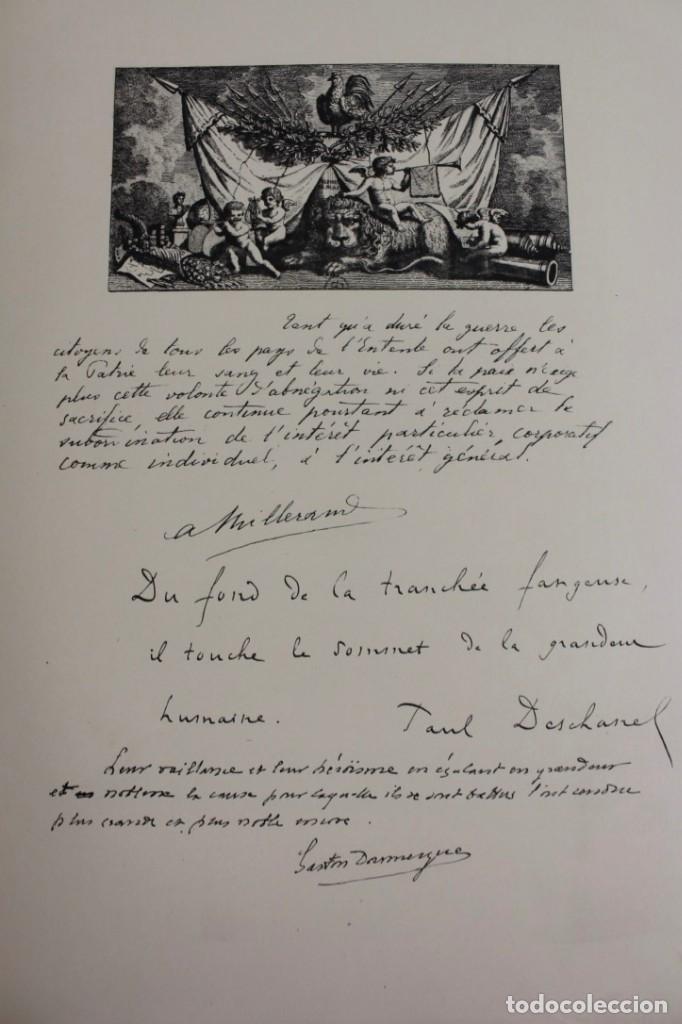 Libros antiguos: *L-5250 MEMORIAL DES ALLIES, EJEMPLAR M.JOSE MOUSCH AGENT CONSULAIRE DE FRANCE, FACSIMIL 1315. - Foto 13 - 150087598