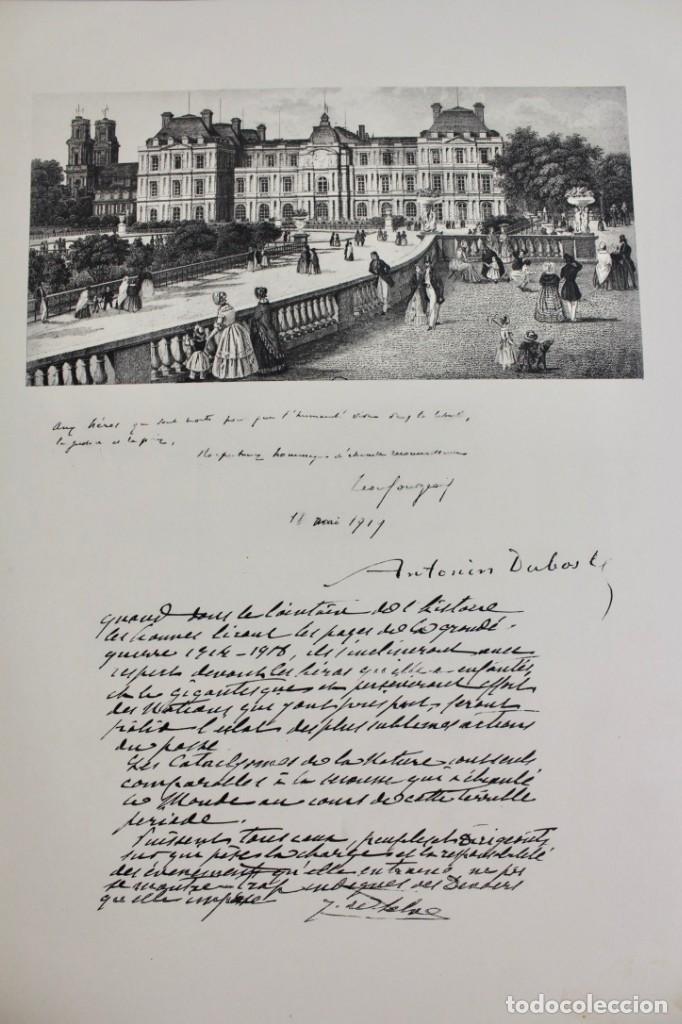 Libros antiguos: *L-5250 MEMORIAL DES ALLIES, EJEMPLAR M.JOSE MOUSCH AGENT CONSULAIRE DE FRANCE, FACSIMIL 1315. - Foto 15 - 150087598