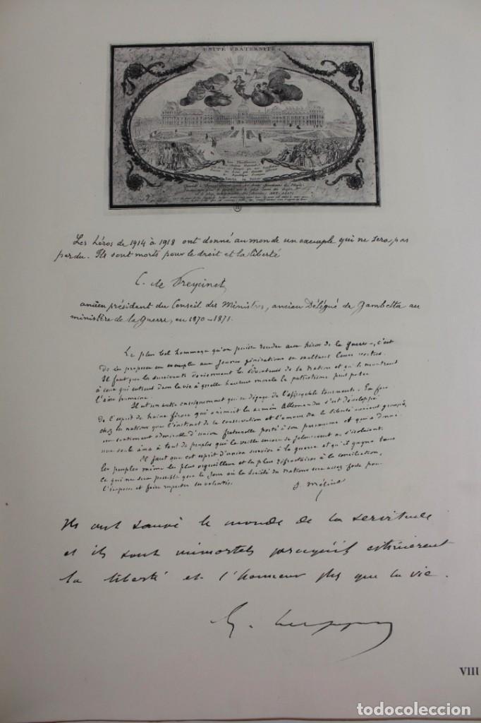 Libros antiguos: *L-5250 MEMORIAL DES ALLIES, EJEMPLAR M.JOSE MOUSCH AGENT CONSULAIRE DE FRANCE, FACSIMIL 1315. - Foto 17 - 150087598